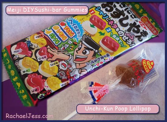 Kawaii Box Gummies and Lollipop