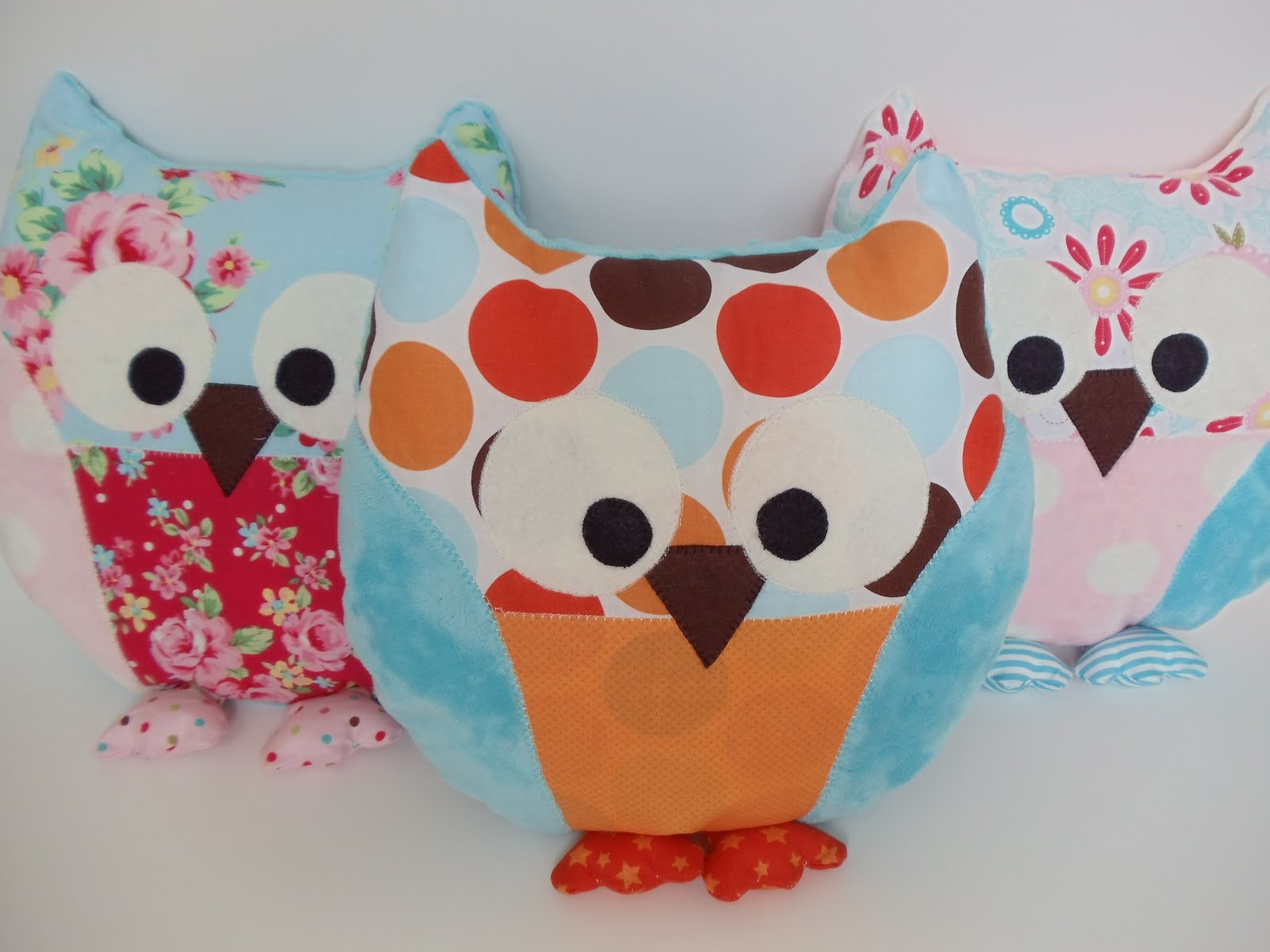 Sewing Patterns For Owl Pillows: My Cotton Creations  Sewing For Children   owl pillow pattern and    ,