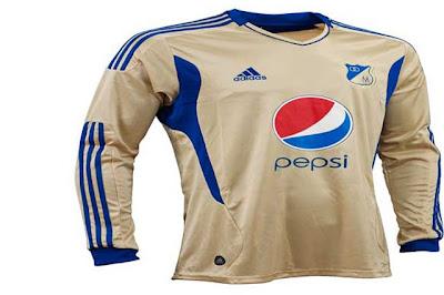 La nueva Camiseta de Millonarios 2011 (Auxiliar)