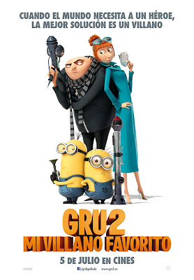 Cartel de Gru 2 Mi Villano Favorito