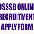 dsssbonline.nic.in Apply Form, DSSSB 2290 Posts Recruitment 2015