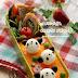 【創意便當】熊貓便當 Panda lunch banto