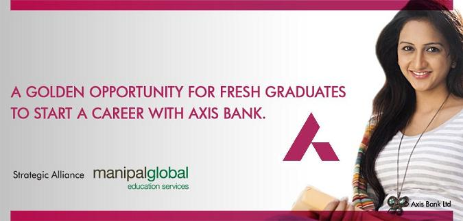 jobs in axis bank, axis bank young bankers program,axis bank po recruitment, jobs in private banks