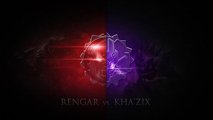 Rengar vs Kha Zix / KhaZix logo icon