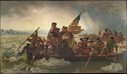 Emanuel Leutze - Washington Crossing the Delaware.