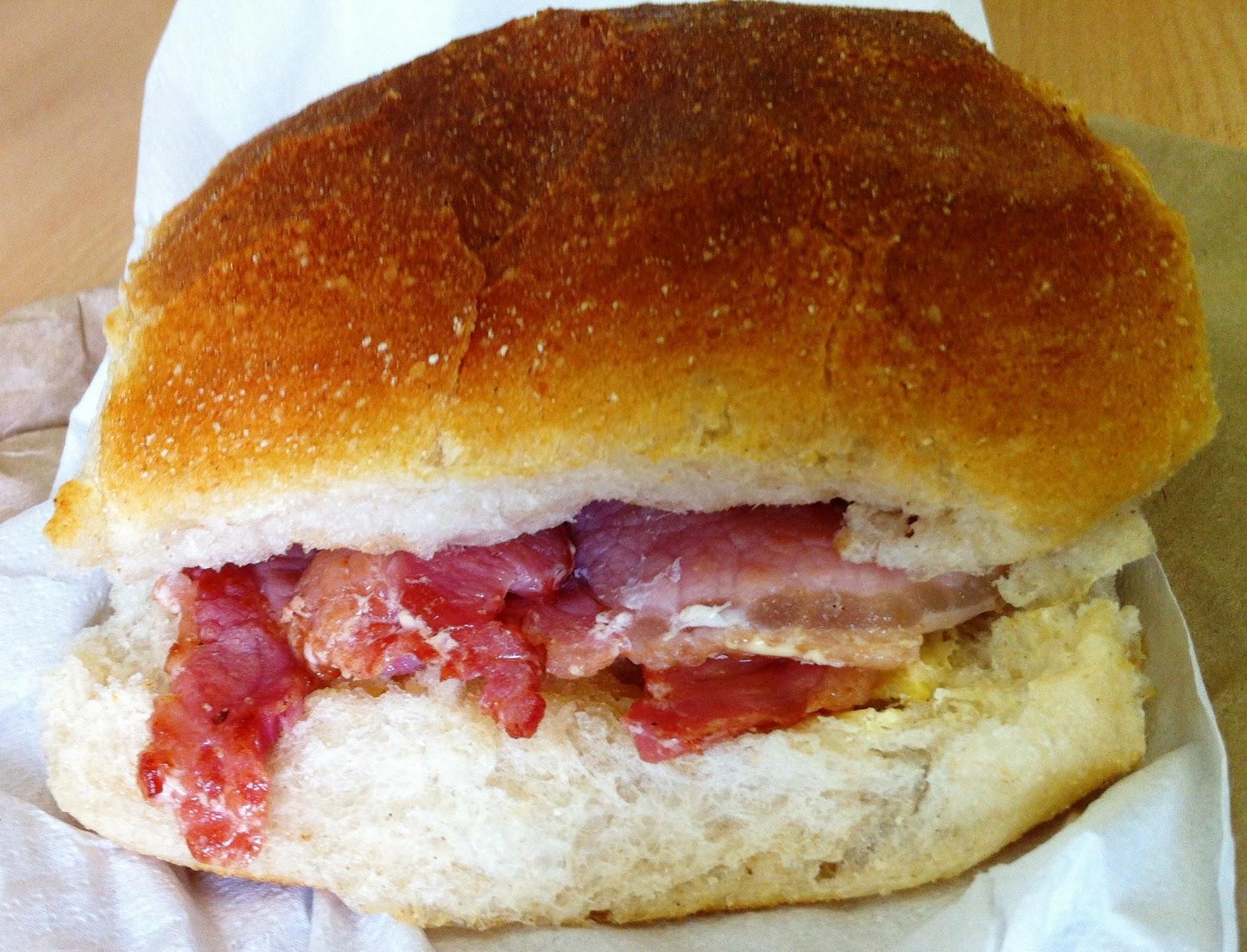 Bacon Sandwich Quest: August