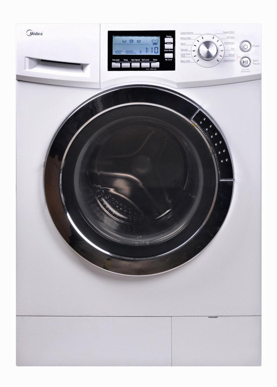 midea 20 cf combination washer dryer combo