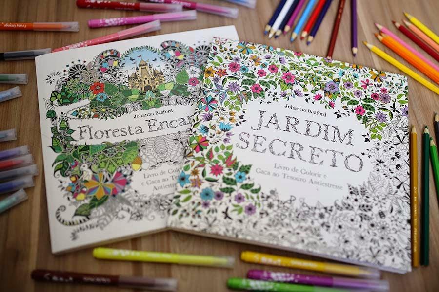 Resenha Jardim Secreto E Floresta Encantada