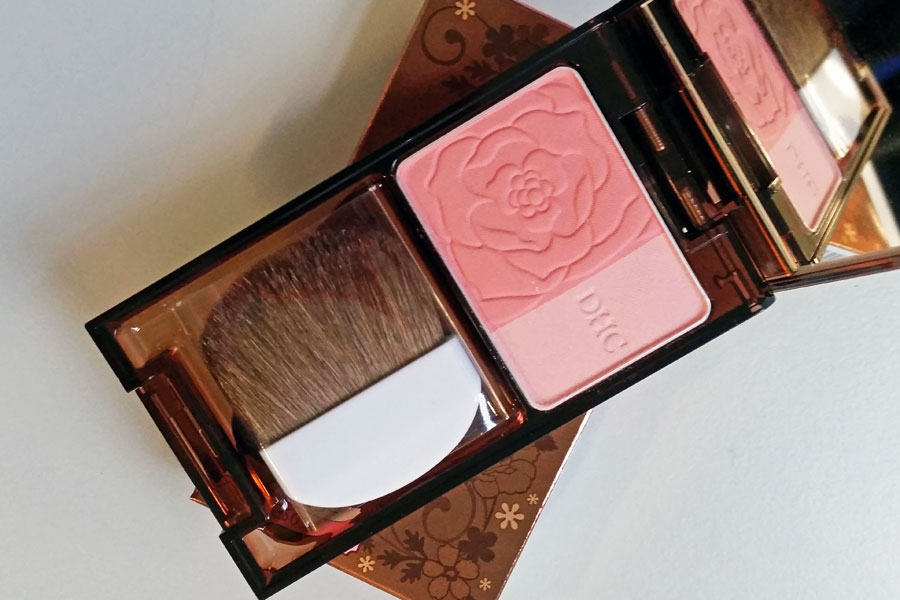DHC blusher giveaway