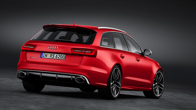 The all-new Audi RS 6 Avant back side