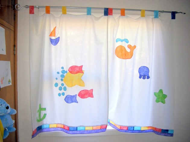 Fascinating curtain ideas for kids rooms curtains design for Blinds for kids rooms