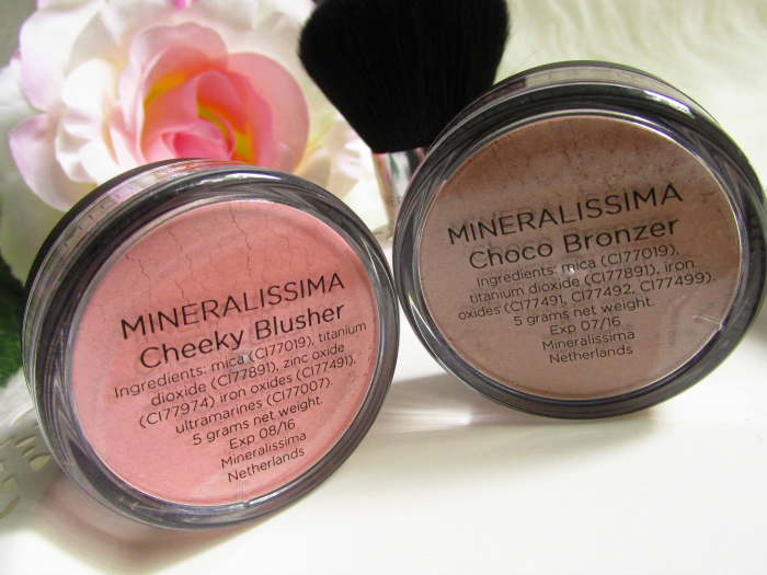 Mineralissima Blusher in Cheeky -  Mineralissima Bronzer in Choco