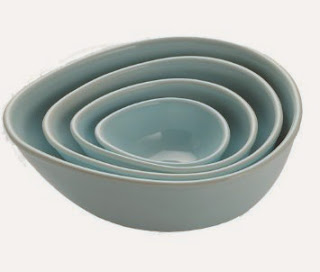 Nigella Lawson blue mixing bowl