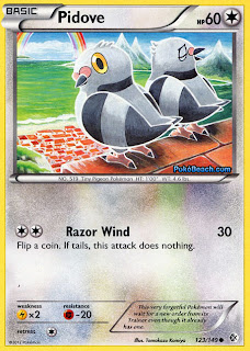 Pidove Boundaries Crossed Pokemon Card