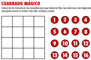 CUADRADO MÁGICO 4x4