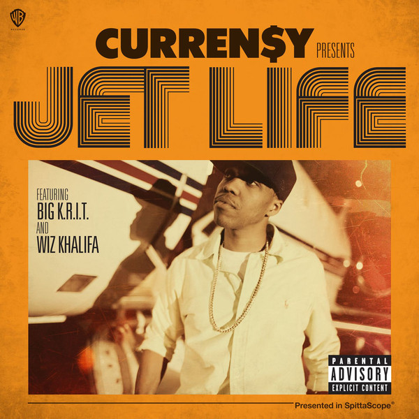 Curren$y - Jet Life (feat. Big K.R.I.T. & Wiz Khalifa) - Single  Cover