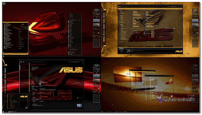 THEME WINDOWS 7 ASUS ROG