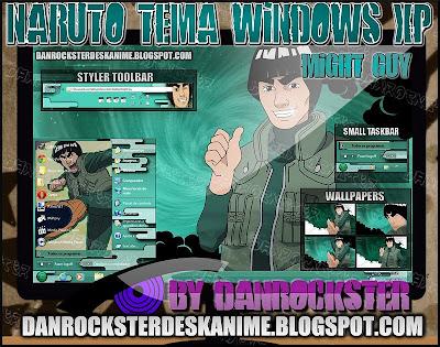 TEMAS de NARUTO PARA WINDOWS XP Y 7 MGTXPP