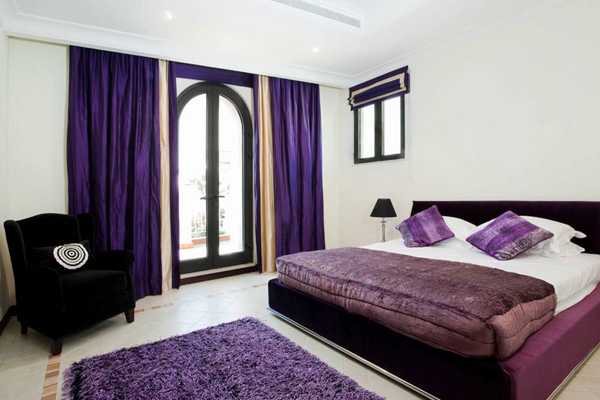 Photo décoration maison: 10 photos de décoration chambre violet