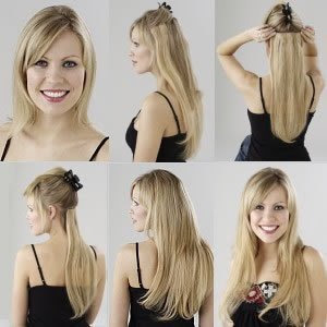 Are clip in extentions damaging to the hair?