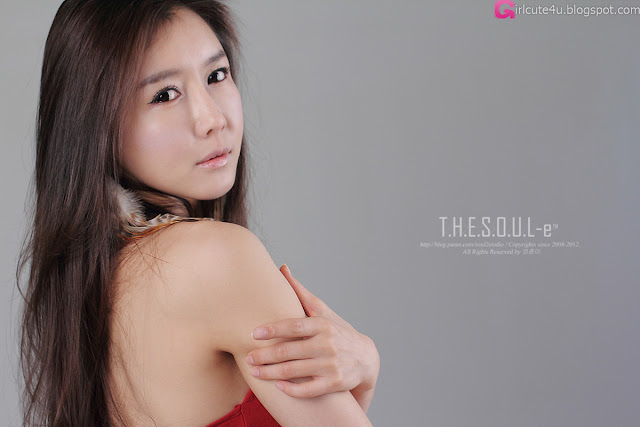 1 Han Seo Young - Hot Rede-very cute asian girl-girlcute4u.blogspot.com