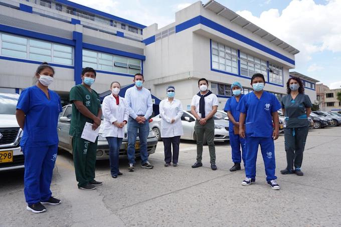 Jóvenes de la comunidad U'wa reciben formación en salud en Hospital Regional de Sogamoso