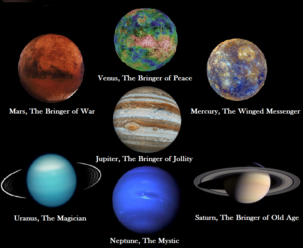 the 7 planets of solar system - photo #27