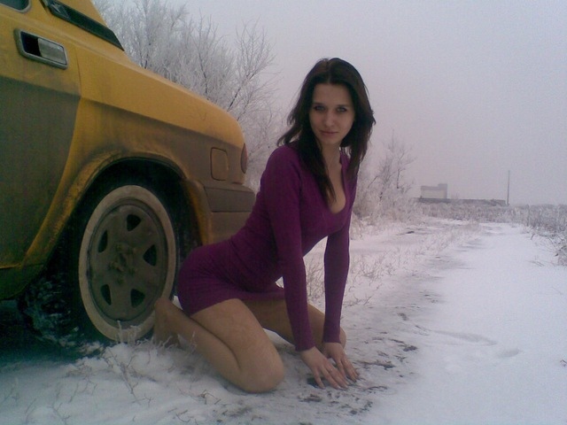 голые девочки зимой