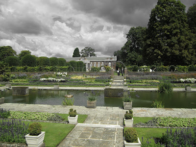 Kensington Palace Sunken Garden Looking Toward Orangery
