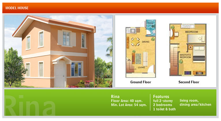 House and Lot for Sale in Cebu and Bohol: Floor Plans of Camella ...