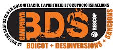Boicot en marcha: Boletín BDS ¡Suscríbete!