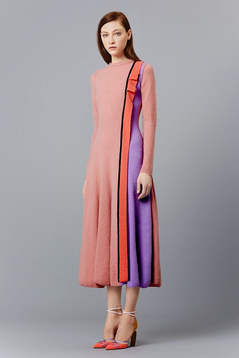 Modest dresses by Roksanda pre-fall 2015 collection | Mode-sty #nolayering tznius tzniut jewish orthodox muslim islamic pentecostal mormon lds evangelical christian apostolic mission clothes Jerusalem trip hijab fashion modest