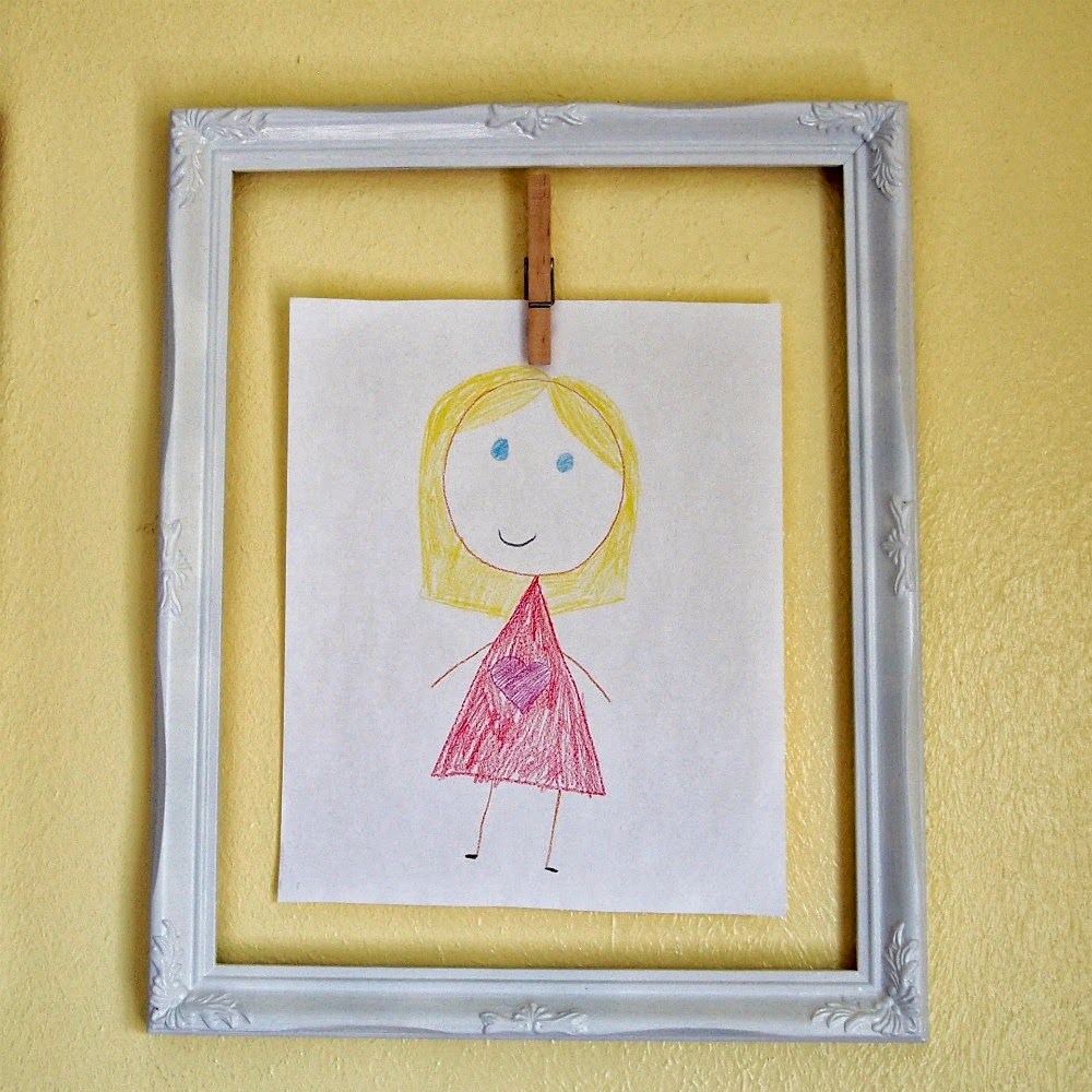 Cathey with an E: DIY Children\'s Art Gallery Wall