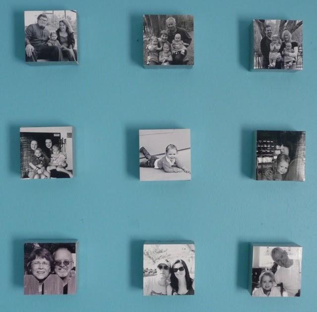 Handmade Intentions Modge Podge Canvas Photos