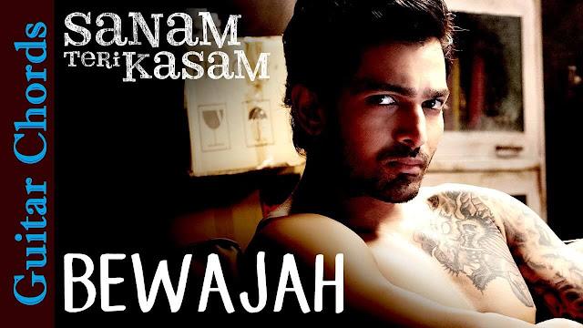 Bewajah Guitar CHORDS Himesh Reshammiya | SANAM TERI KASAM