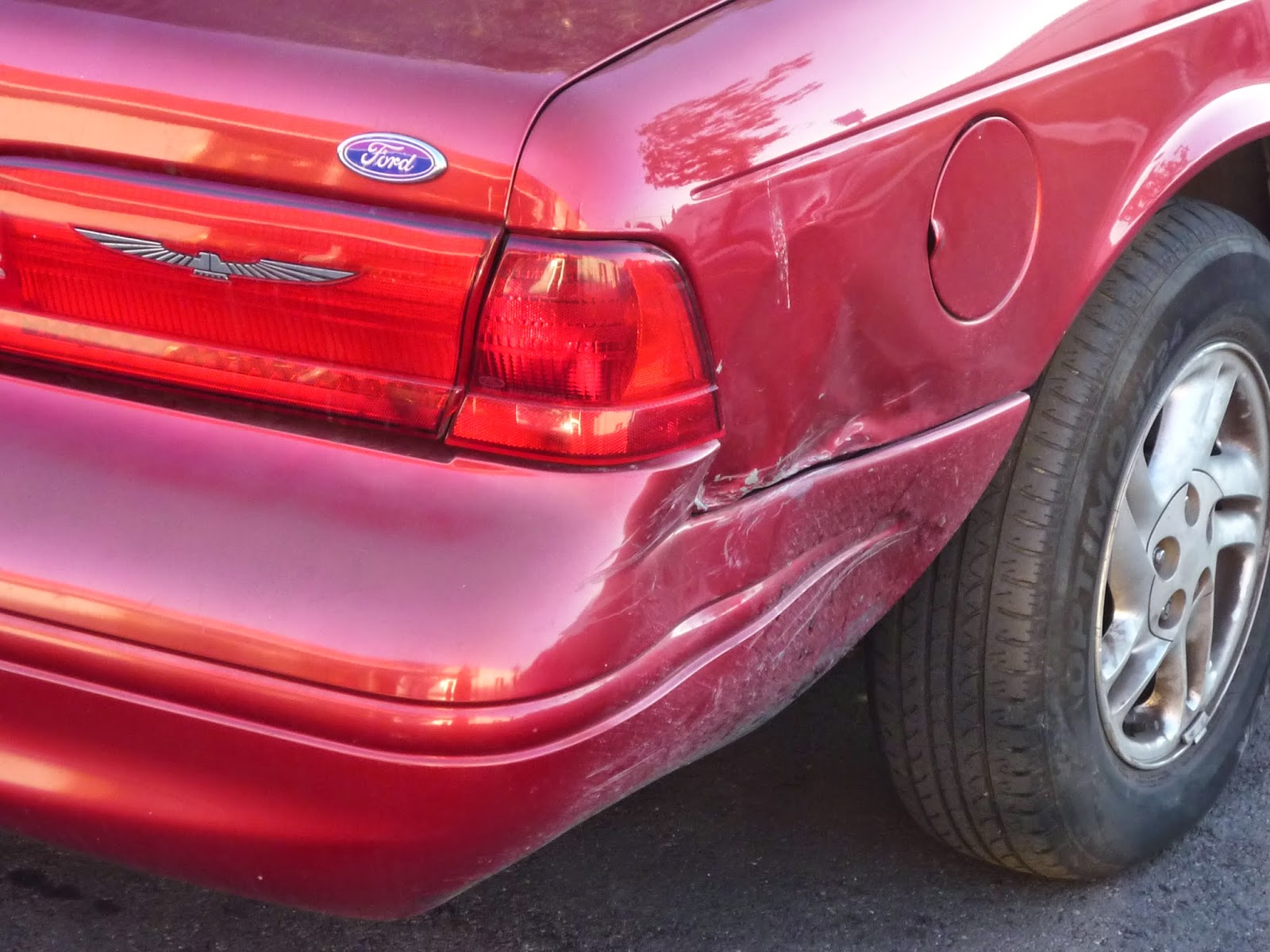 Collision repair on 1996 Ford Thunderbird