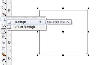membuat kotak Rectangle