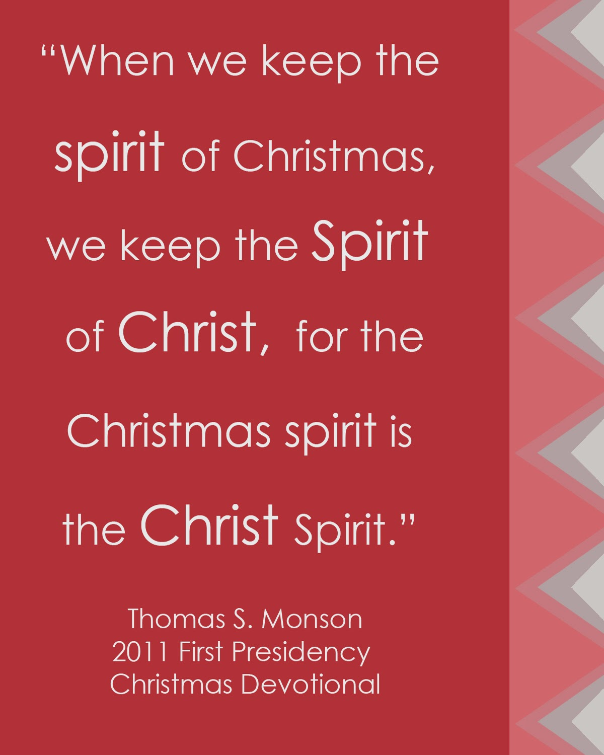 And peace that come with christmas are from our savior jesus christ