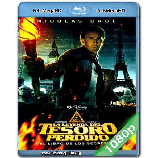 LA LEYENDA DEL TESORO PERDIDO (2004) 1080P HD MKV ESPAÑOL LATINO