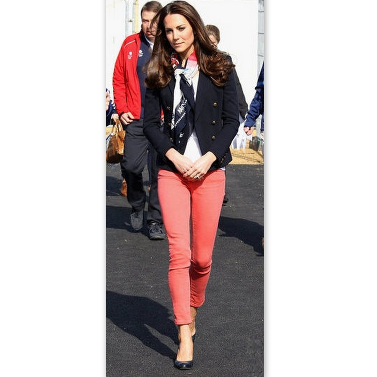 Style-Delights: Get Kate Middleton's Olympic Park Style (Coral ...