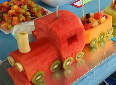 Tren de frutas