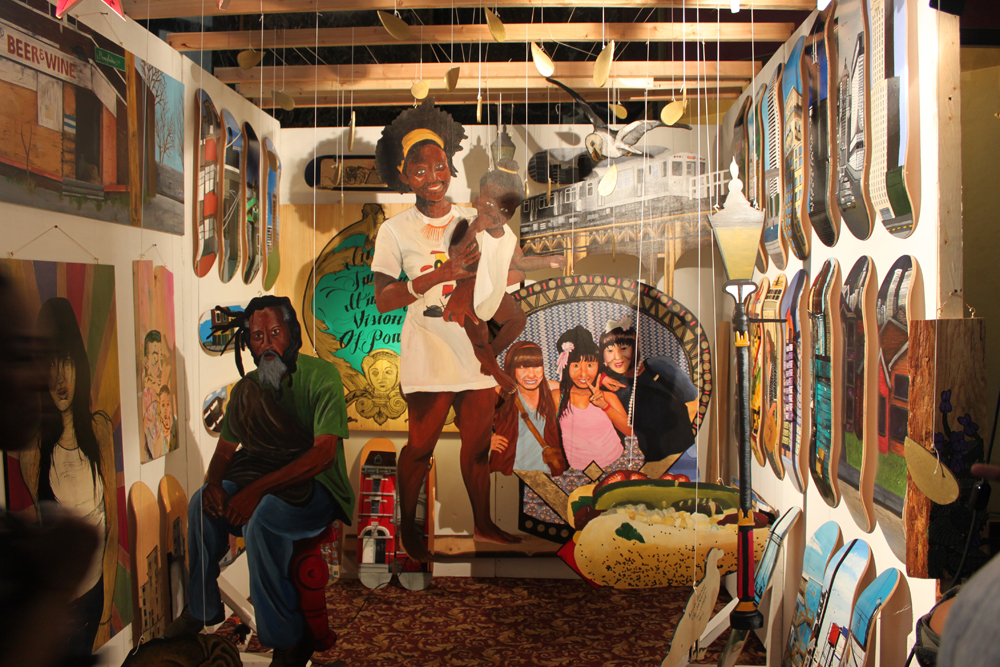 Jourdon Gullett: Installation with Gallery 37 at the Cultural ...