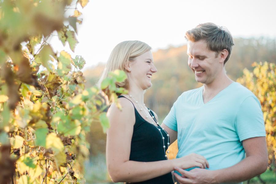 Kim + Dennis' Linville Falls Engagement Adventure | Boone NC Engagement Photographer
