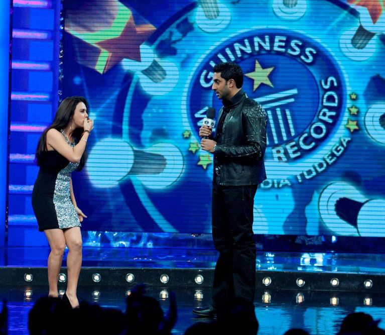 Abhishek Bachchan At Guinness World Records Latest PicsPhotos wallpapers