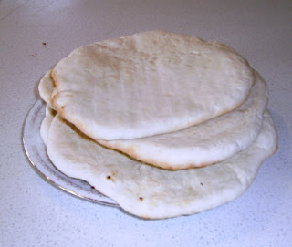 HOME-MADE PITA BREAD