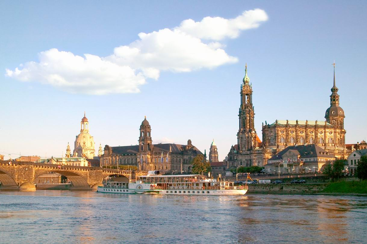 Cities in world dresden germany