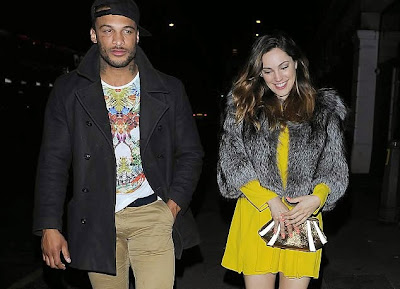 Kelly Brook boyfriend hot badger breath