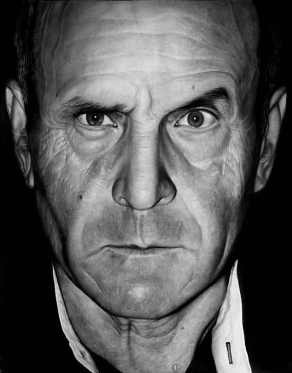 Estos alucinantes retratos hechos a lápiz harán que tu mandíbula se caiga al suelo