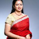 Lakshmi Ramakrishnan in Saree Pictures