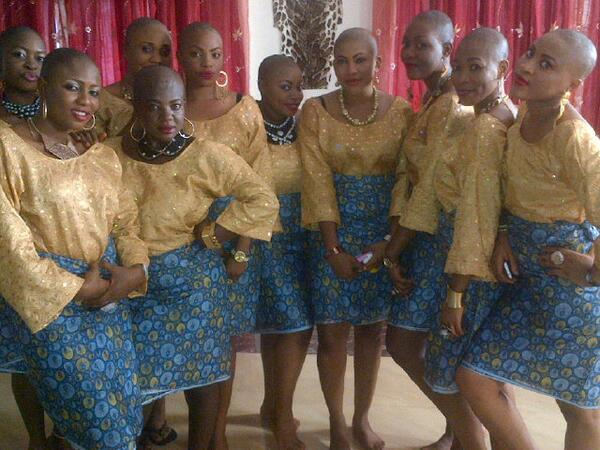 nollywood acresses bald